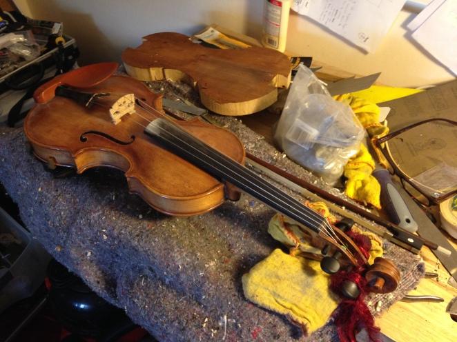 Fiddle by Graham Vincent